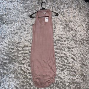 Charolette Rousseau Taupe Dress